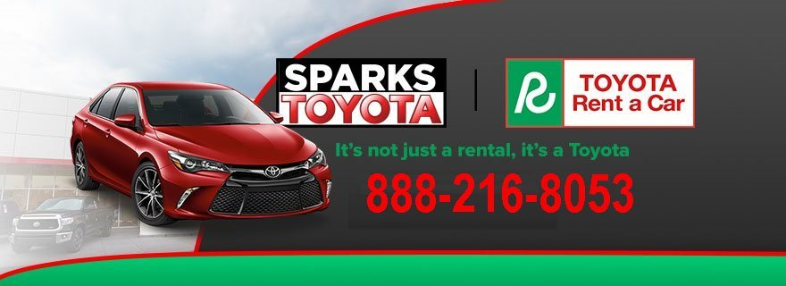 Sparks Toyota Service >> Myrtle Beach Sc Toyota Rent A Car 888 216 8053 Serving Conway